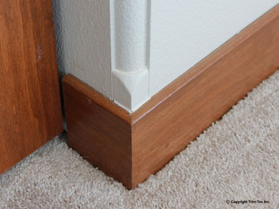Bead Bullnose Corner : This step a bull adapter transitions rounded corners into