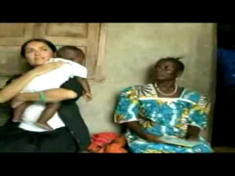 Salma Hayek - Breastfeeding An African Baby Boy, It's My Job You Silly!!!