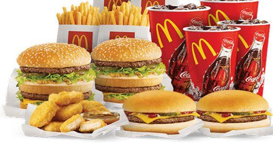 McDonalds Kalorientabelle mit Burger, Wraps & Co.