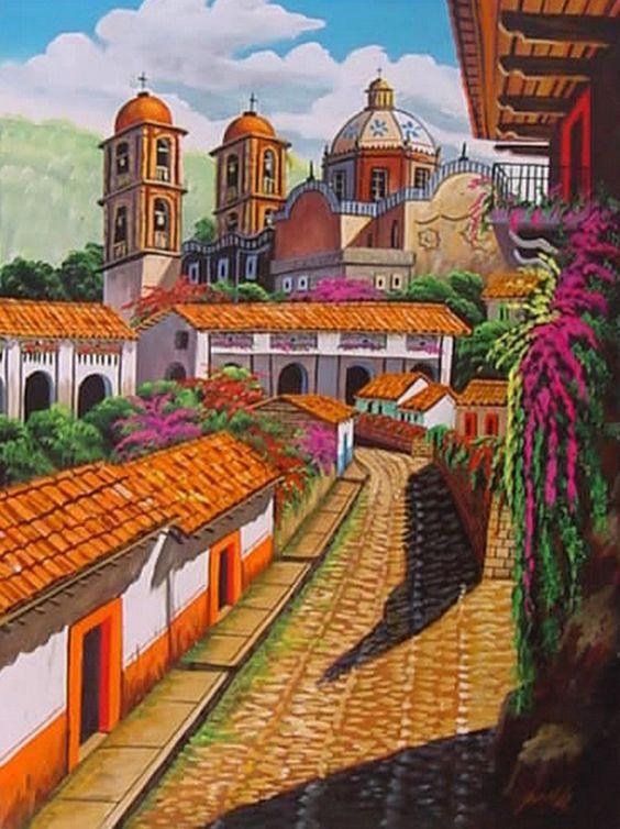 Resultado de imagen para provincia mexicana pintura