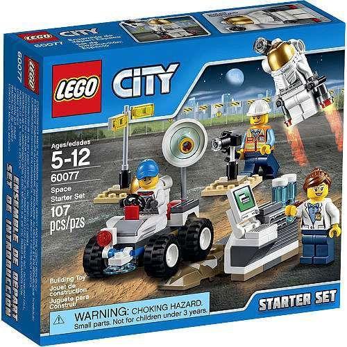 Lego City Space Starter Set 60077 Damaged Package Lego City Space Lego City Lego