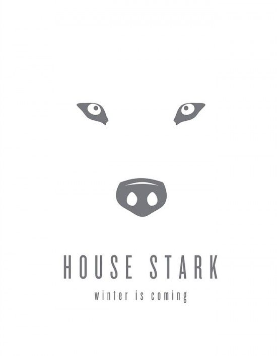 Game of Thrones – Les posters minimalistes de Tom Gateley