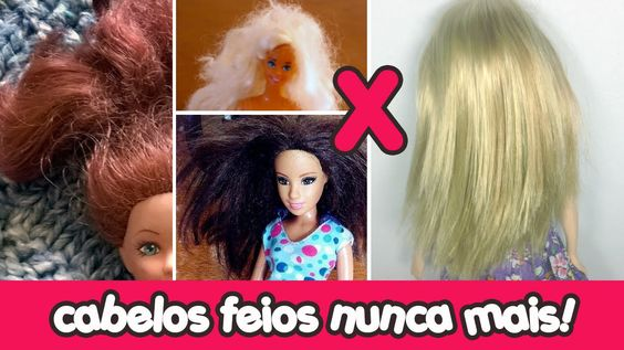 Como fazer Escova Progressiva (Alisamento) na Barbie e outros brinquedos