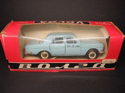 miniaturas - Táxi: Modelo - Volga Такси - Miniatura automóvel n.º 10