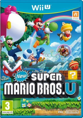 New Super Mario Bros. U - Wii U......wonderful game!