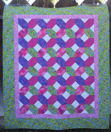 Quilt in a Day - Valerie's Hugs and Kisses Quilt - Quilting Photos - Community Forum