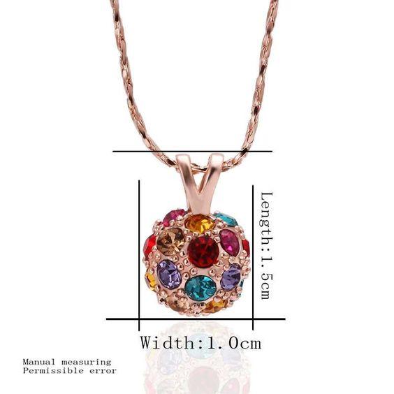 Best Gift 18K Gold Plating choker necklace flower ball tattoo choker joias