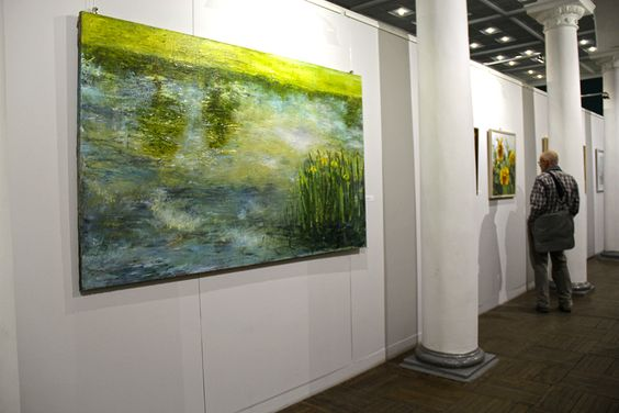 В пространстве Музея изобразительных искусств. Фото Жени Шведы