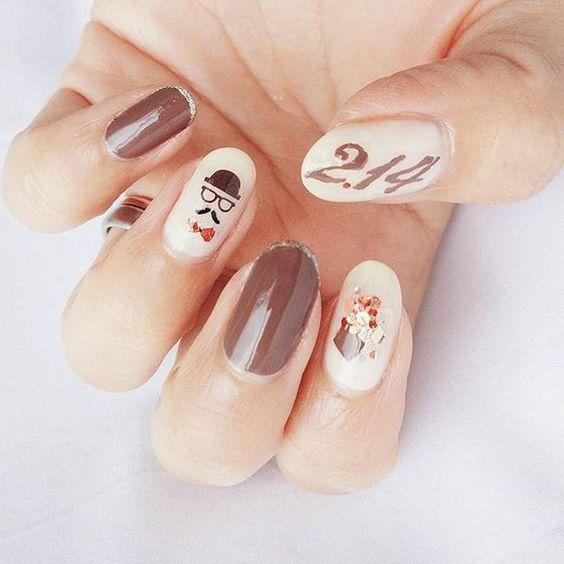バレンタインを指先で楽しもう♡指先のチョコレートネイル14選 - Locari(ロカリ)