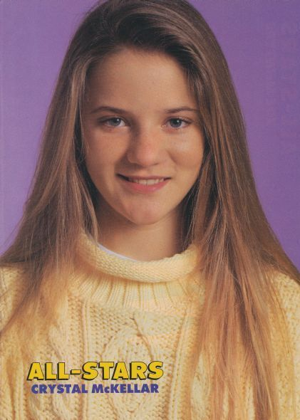 Crystal McKellar - Becky Slater Wonder Years - Danica ...