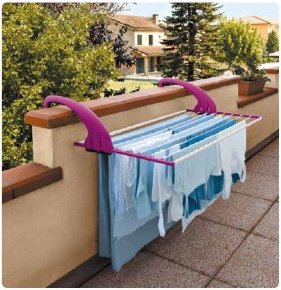 Lock Balcony Clothes Airer - A very practical Clothesline ...