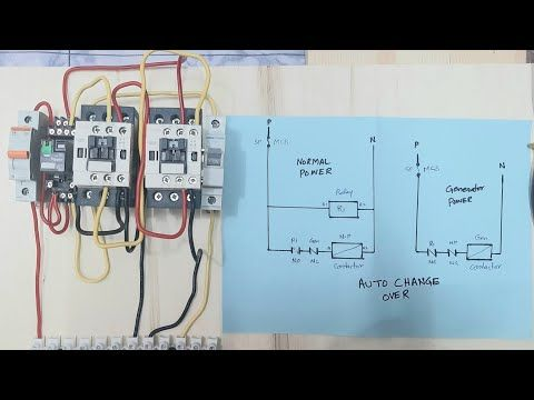 Automatic Transfer Switch Ats, Automatic Transfer Switch Wiring Diagram