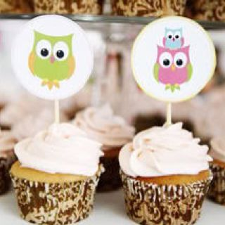 Cupcakes de corujinha!!