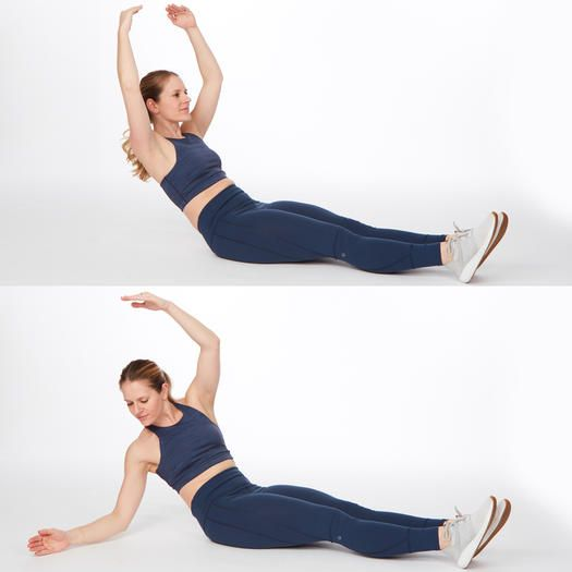These Abs Exercises Are Easy Enough For Beginners But Can Still