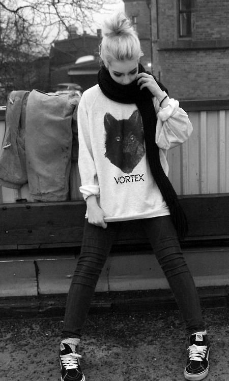 Alexandra Lonnback for VORTEX CLOTHING Photo by