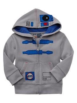 R2D2 Star Wars hoodie <3!!!