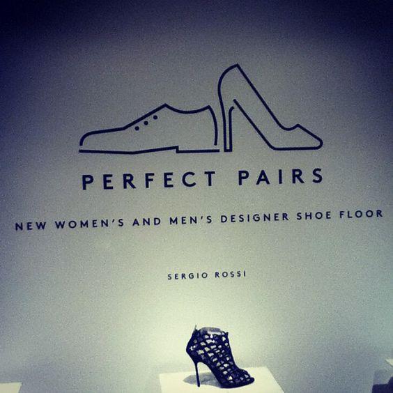 Barney's NY Designer Shoe Department