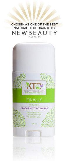 Finally - Natural Deodorant That Works – KTO: