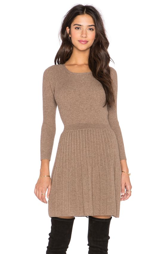 Peronne Long Sleeve Sweater Dress - Long sleeve sweater- Sleeve ...