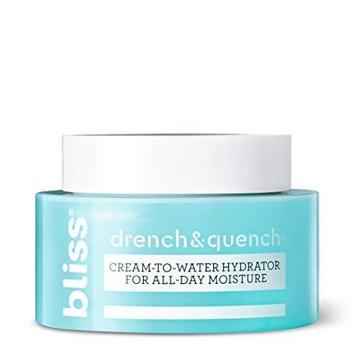 Bliss Drench And Quench Cream To Water Daily Moisturizer And Hydrating Skin Cream For Balanci Face Moisturizer Moisturizer Hydrate Skin