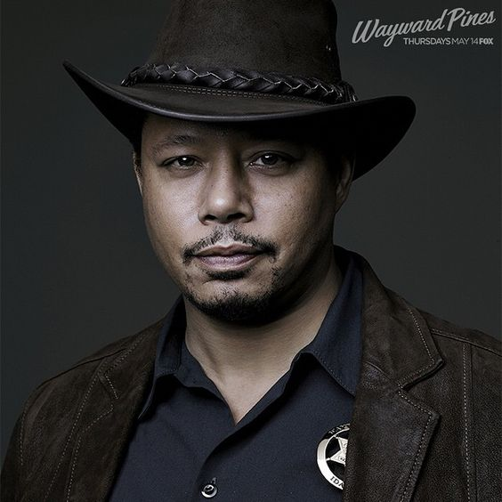Terrence Howard stars as Sheriff Arnold Pope, a man who knows how to run the town of #waywardpines MAY 14