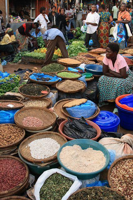Lilongwe Market, Malawi by Philipp Hamedl, via Flickr