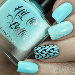 """Hit the Bottle """"Arctic Cloudberry"""" Stamping Polish"""