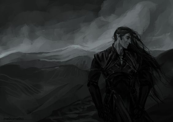 """Melkor (Morgoth) - no longer counted among the Valar, and Fëanor, one of the leaders of the Noldorin Elves, called him """"Morgoth Bauglir"""", The Great Enemy, by which name he was known in Middle-earth ever after;  cast out of Arda at the end of the War of Wrath"""