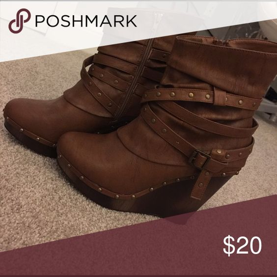 Chestnut brown Not rated boots