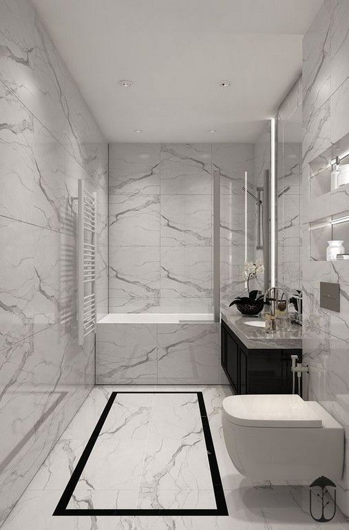 29 Awesome Interior Designs With Using Marble Bathroom Tub Shower Bathroom Interior Design Bathroom Interior
