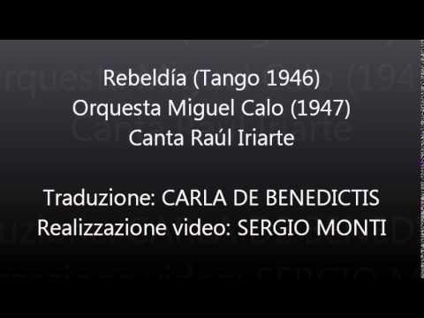 Rebeldia - Miguel Calo - Traduzione in italiano