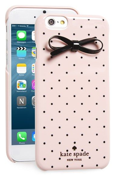 kate spade iphone cover kate spade new york gold dot amp bow iphone 6 amp 6s 15596
