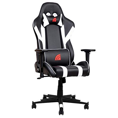 Inland Mach Ergonomic Racing Style Recliner Gaming Chair With 5