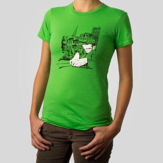 Sam Transamerica Women's T-Shirt by Sam Flores