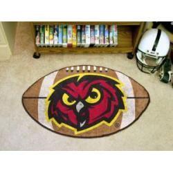 """Temple Owls Football Rug 22""""x35"""""""