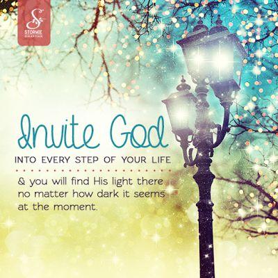 REDE MISSIONÁRIA: INVITE GOD
