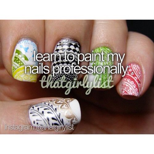 Really need to do because I am awful at painting my nails