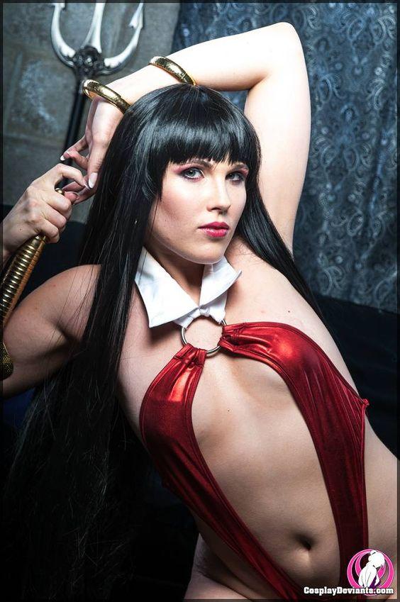 Jsica als Vampirella