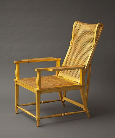 Gilt Wood Armchair with Square Bronze Feet., C. 1950 Andre Arbus