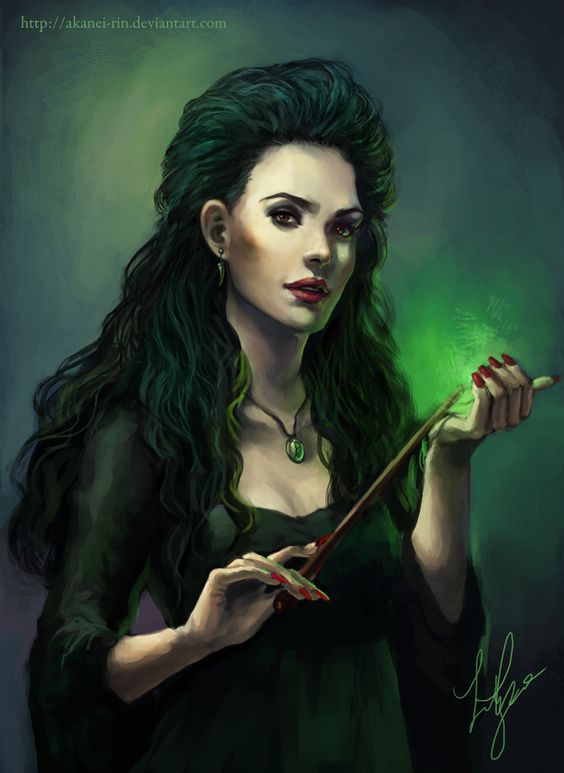 Bellatrix lestrange and deviantART on Pinterest