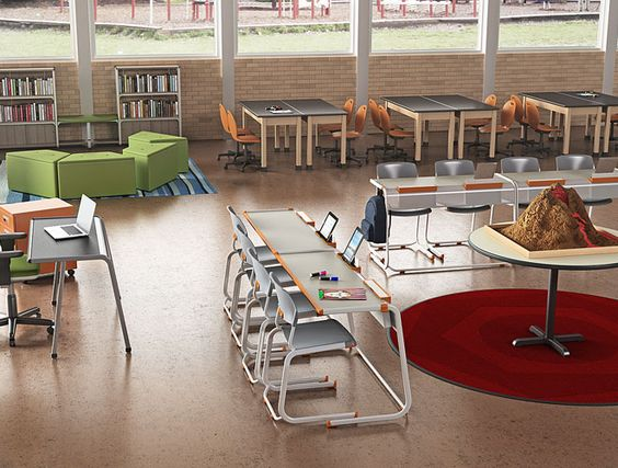 Classroom Furniture   School Furniture   Information Commons    Collaborative Learning   Paragon Furniture