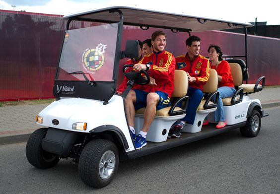 Taking A Ride On The Ramos Mobile