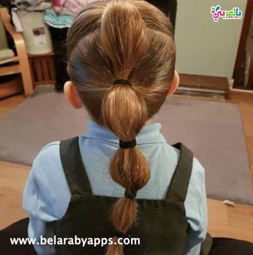 تسريحات اطفال سهلة ومميزة للمدرسة Toddler Hairstyles Girl Kids Hairstyles Easy Toddler Hairstyles