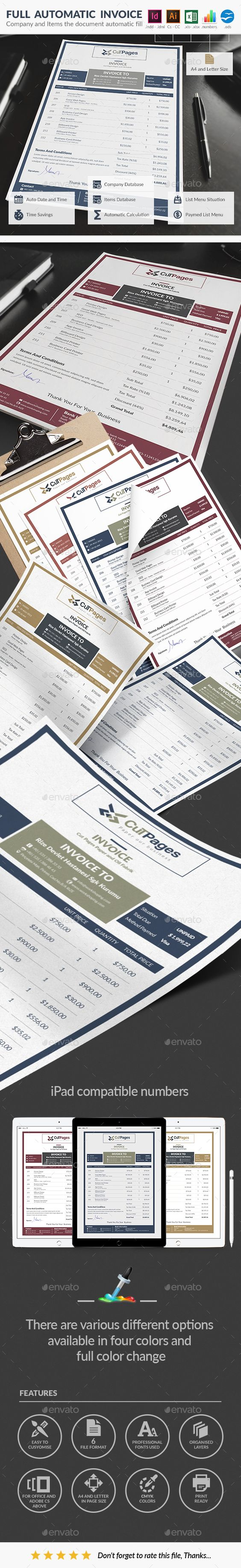 invoice design, invoice template and templates free on pinterest, Invoice examples