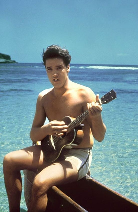 Dreaming of a ukulele is an invitation to kick back and forget your worries. Dreaming of Elvis with a ukulele means the same, but is a whole lot sexier.