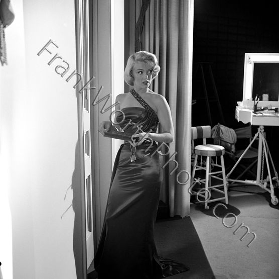Marilyn Monroe on Set of How to Marry a Millionaire 1953