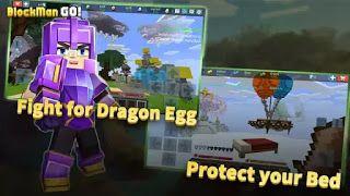 تحميل لعبة Blockman Go مهكرة 2021 للاندرويد و للايفون أخر اصدار Go Game Dragon Egg Fight