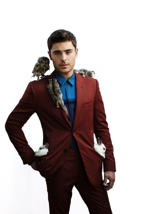 Zac Efron is an Animal for BlackBook