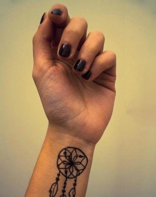 My Friends Tattoo Cute Tattoo Dreamer Wristtattoo Dreamcatcher Tattoos Dream Catcher Tattoo Dream Catcher Wrist Tattoo
