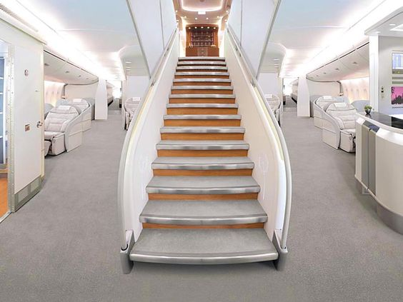 A380 Inside Stairs | www.pixshark.com - Images Galleries ...